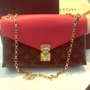 Authentic Louis Vuitton NIB palace Crossbody bag